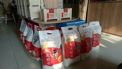 黑龙江省齐齐哈尔市龙江县 稻花香大米 一等品 晚稻 粳米