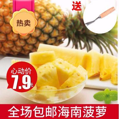 广西壮族自治区柳州市柳南区海南菠萝 1.5 - 2斤