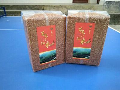 云南省大理白族自治州云龙县高山生态大米 一等品 一季稻 籼米