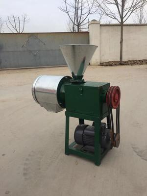 山东省济宁市曲阜市磨粉机  小麦高粱去皮磨面机