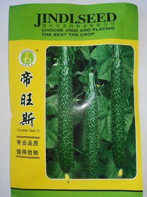 这是一张关于帝旺斯  杂交种 ≥85% 油绿黄瓜种子的产品图片