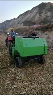 山东省菏泽市郓城县粉碎打捆机  玉米小麦秸秆打捆机