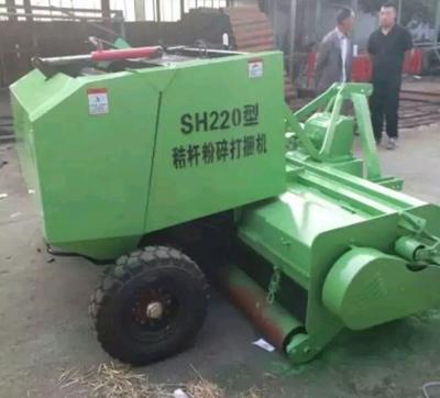 山东省菏泽市郓城县捡拾打捆机  水稻秸秆粉碎打捆机