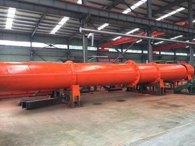 河南省鹤壁市淇滨区肥料速冷机  有机肥烘干机冷却机