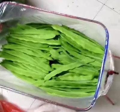 山东省济南市历下区绿扁豆 扁豆荚