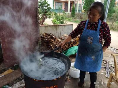 江西省上饶市鄱阳县甘蔗原汁红糖
