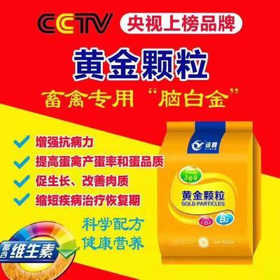 河南省郑州市金水区混合型饲料添加剂  黄金颗粒(复合多维)