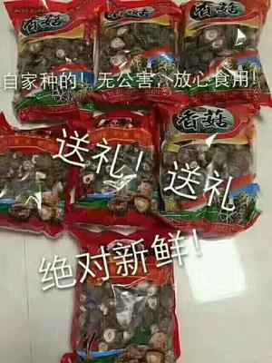 福建省龙岩市新罗区花菇干  散装 1年以上 也有包装好的