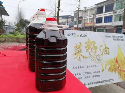 重庆梁平县自榨纯菜籽油