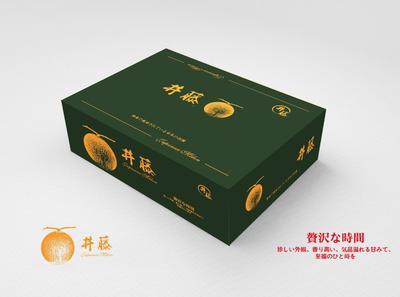 海南省三亚市崖州区网纹瓜 3斤以上 日本井藤瓜 网纹玫珑