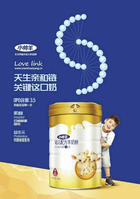 广西壮族自治区羊奶粉  18-24个月 小帅羊1、2、3段