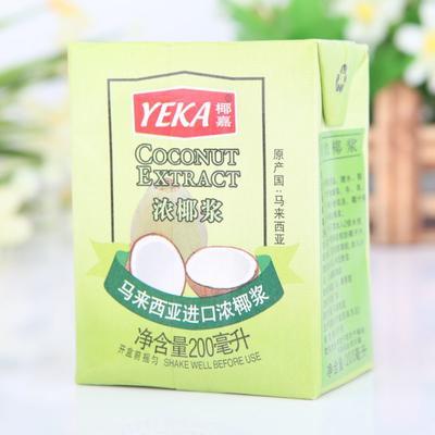 广东省深圳市龙岗区椰浆 椰嘉浓200ml