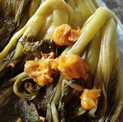 浙江省杭州市余杭区鱼酸菜