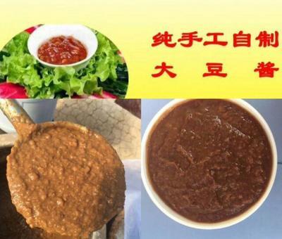 吉林省长春市九台区 黄豆酱  东北农家纯手工黄豆酱