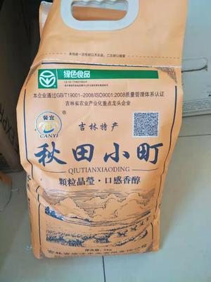 吉林省四平市双辽市东北大米  一等品 一季稻 粳米 2018年新大米