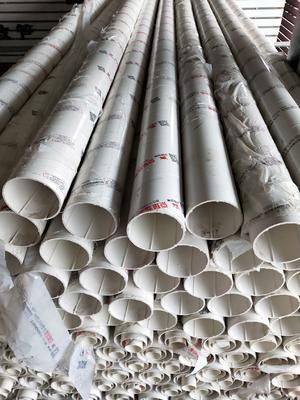 河南省郑州市新郑市水管  pvc螺线管 排水管