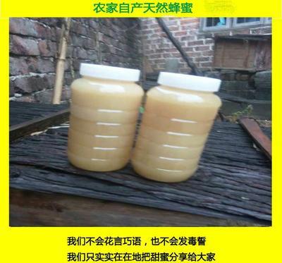 江西省吉安市井冈山市土蜂蜜 塑料瓶装 2年 98%