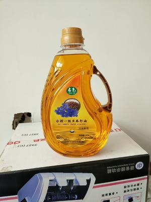 河北省石家庄市元氏县有机亚麻籽油  物理冷轧质量纯正