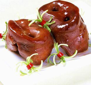 四川省成都市双流县卤猪头肉 卤拱嘴 9成熟