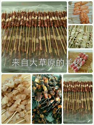 内蒙古自治区锡林郭勒盟锡林浩特市羊肉串 简加工