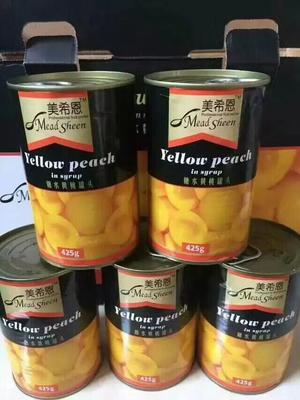 广西壮族自治区南宁市上林县黄桃罐头 3-6个月