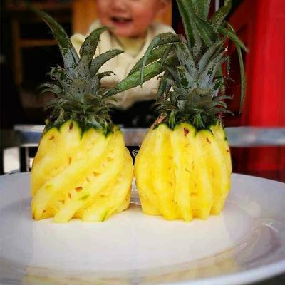 陕西省咸阳市秦都区香水菠萝 1 - 1.5斤