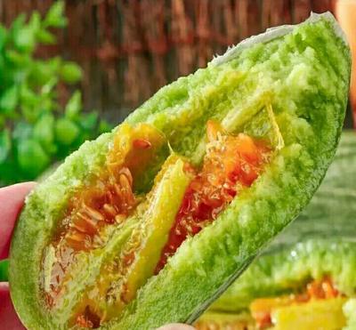 广西壮族自治区南宁市西乡塘区羊角蜜甜瓜 0.5斤以上
