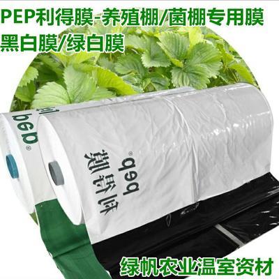 山东省潍坊市寿光市土工膜  PEP利得膜13S黑白膜绿白膜