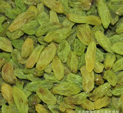 新疆维吾尔自治区巴音郭楞蒙古自治州和静县新疆绿葡萄干 统货