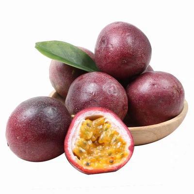 这是一张关于紫香一号百香果 40 - 50克 的产品图片
