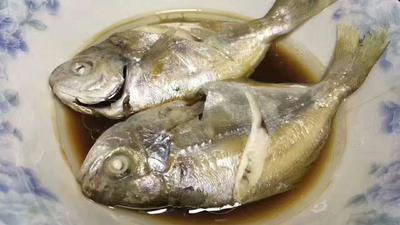 这是一张关于银鲳鱼 野生 0.5公斤以下 的产品图片