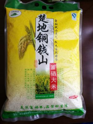 湖北省荆门市钟祥市富硒大米 一等品 中稻 粳米