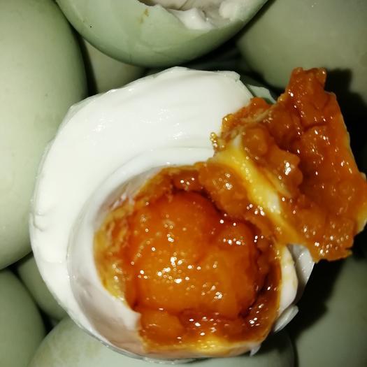 农家咸鸭蛋 河南特产红油流油低盐泥腌60克100枚咸鸭蛋