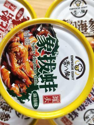 海鲜罐头 象拔蚌麻辣即食小海鲜贝蚌类香辣水产牡蛎蚬子
