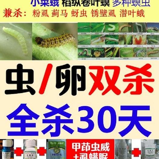 甲维盐 茚虫威虱螨脲1+1+1杀卵杀大虫2000斤水吊丝虫菜青虫粘虫