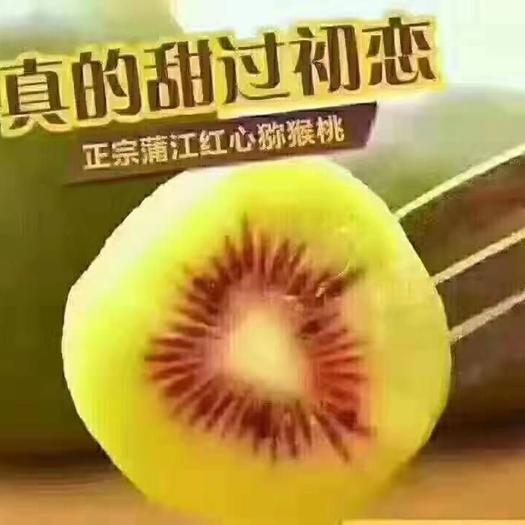 红心猕猴桃 香甜可口