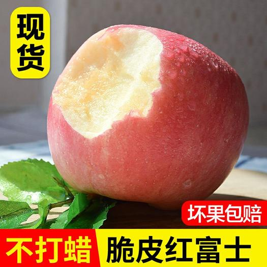 【破损包赔】红富士新鲜苹果连箱10斤包邮