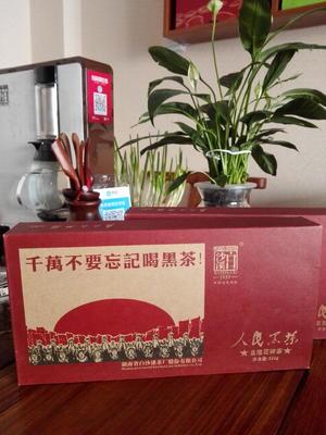 山东省滨州市滨城区花砖直泡黑茶 盒装 二级