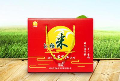 黑龙江佳木斯抚远县东北大米 绿色食品 晚稻 一等品