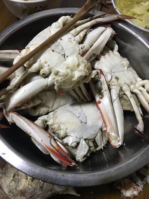 辽宁丹东东港市梭子蟹 4.0两以上 公蟹