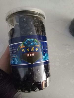 吉林白山抚松县干蓝莓 冻果 2 - 4mm以上