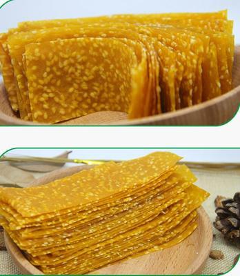 湖南郴州苏仙区纯手工芝麻薯片 片状 袋装 半年