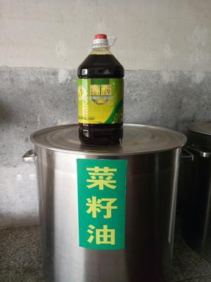 湖南湘潭岳塘区压榨菜籽油 5L/桶