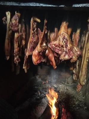 广西来宾金秀瑶族自治县腊猪头肉 散装