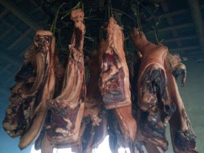 贵州安顺紫云苗族布依族自治县贵州农家腊肉 箱装
