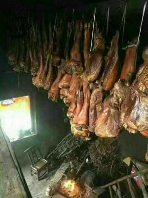 湖北恩施土咸丰县传统手工腊肉 散装