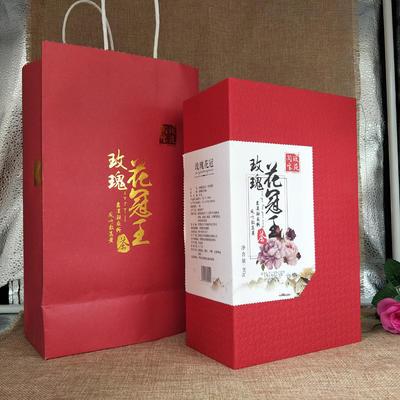 山东济南平阴县玫瑰花茶 礼盒装 一级