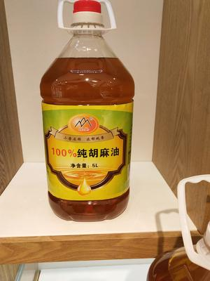 甘肃白银靖远县冷榨亚麻籽油