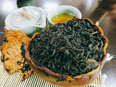 福建漳州平和县柚茶 盒装 3年以上 特级