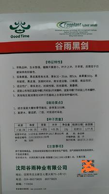 山东省潍坊市寿光市茄子种子